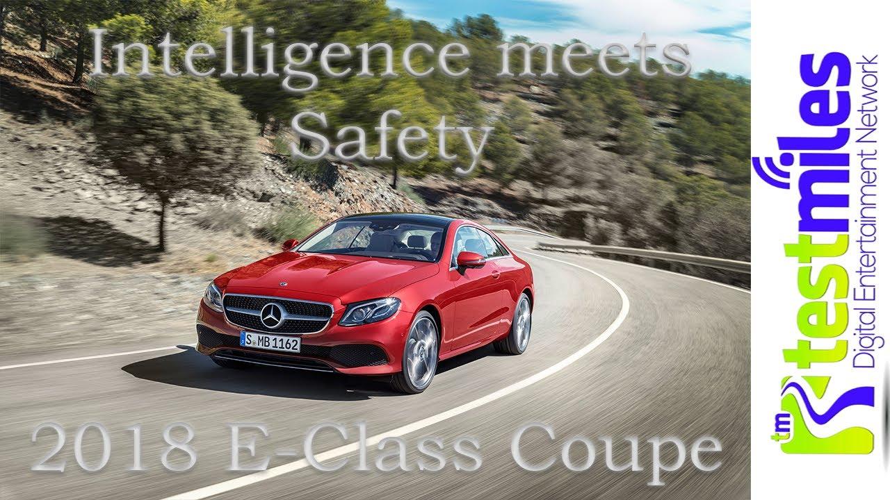 2018 Mercedes Benz E Class COUPE First Drivenbsp