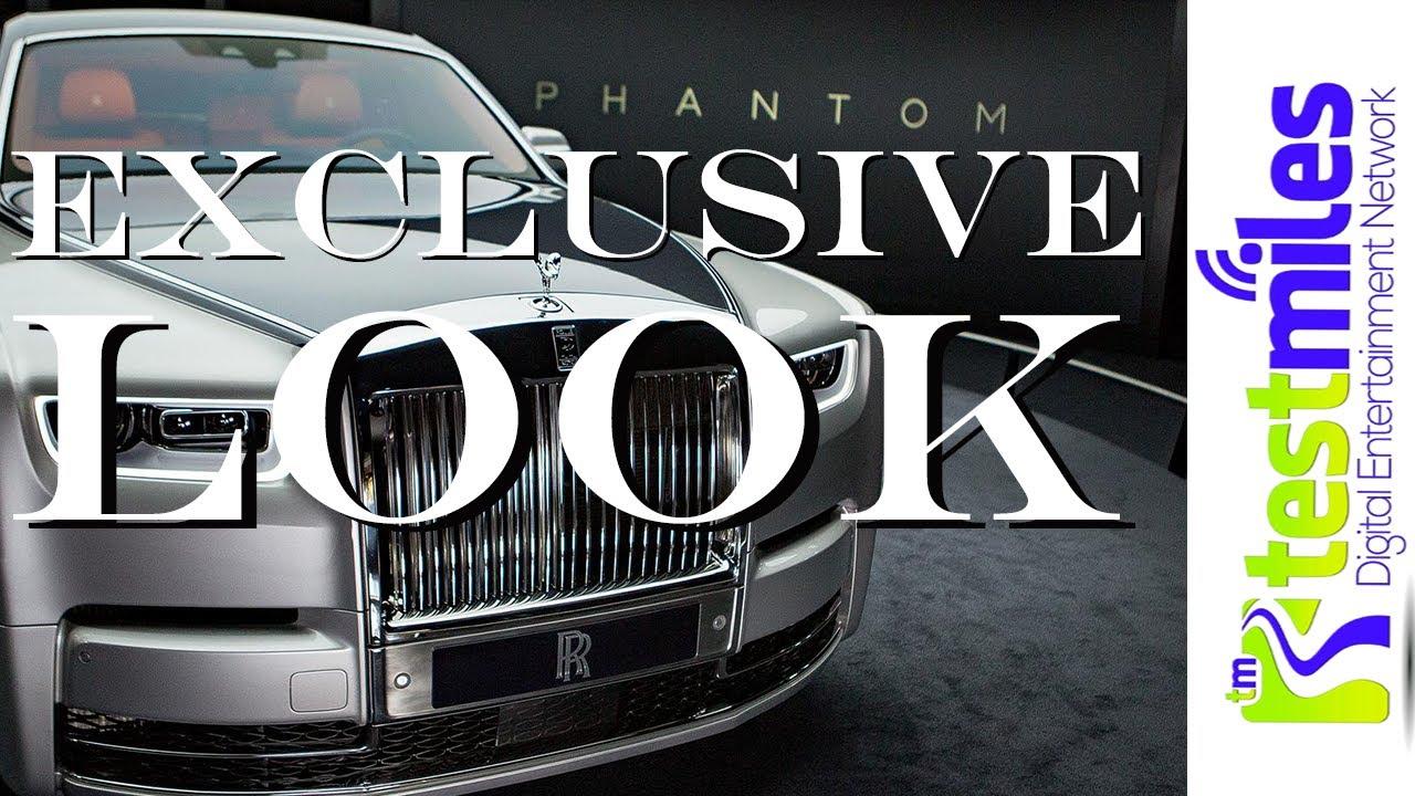 Best things inside The 2018 Rolls Royce Phantom VIIInbsp