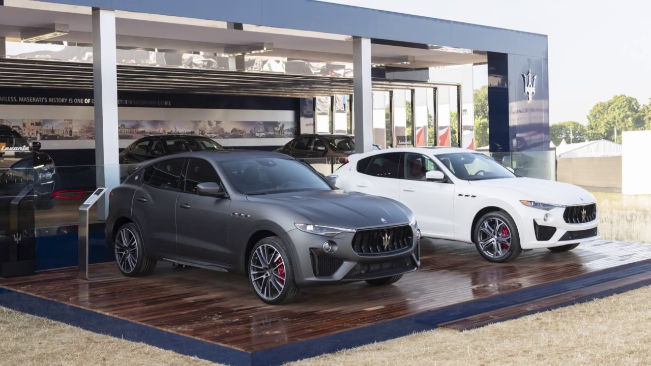 2018 Maserati Levante GTS, Part Ferrari, Part UV all dream car!