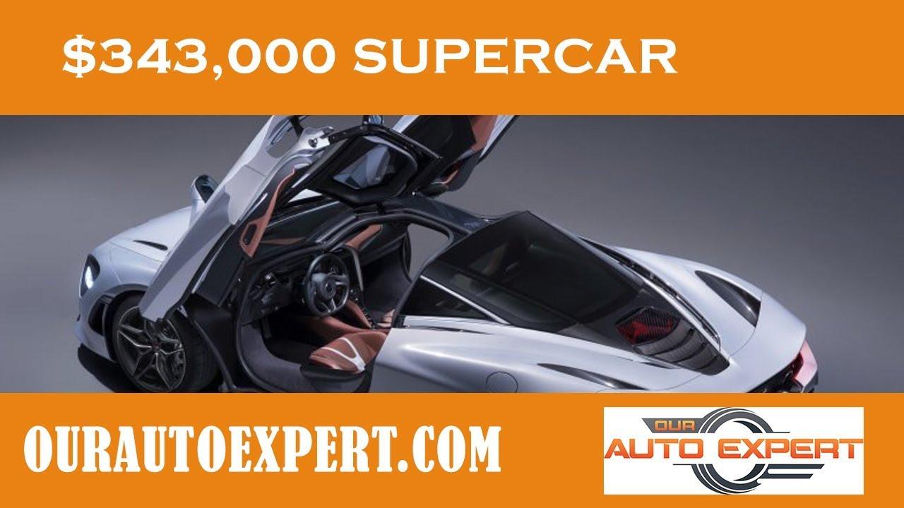 Supercar McLaren 720s