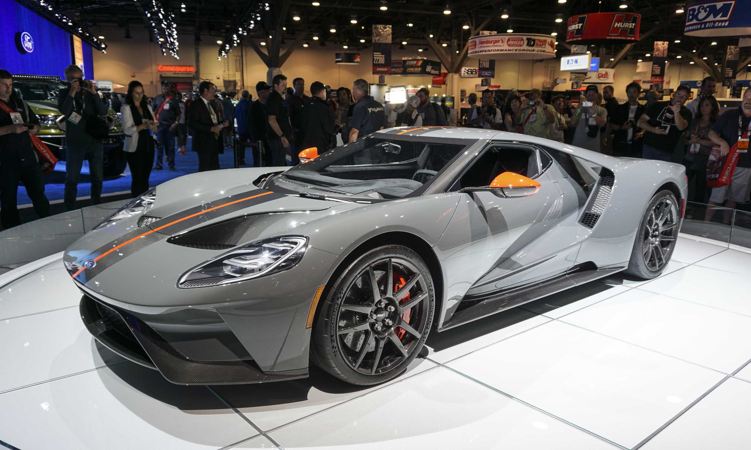 2018 Sema Show 2019 Ford Gt Carbon Series Our Auto Expert