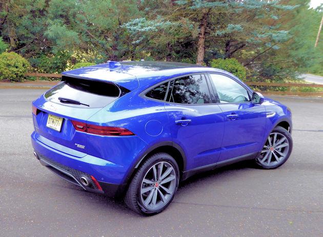 2018 Jaguar E-Pace SE Test Drive
