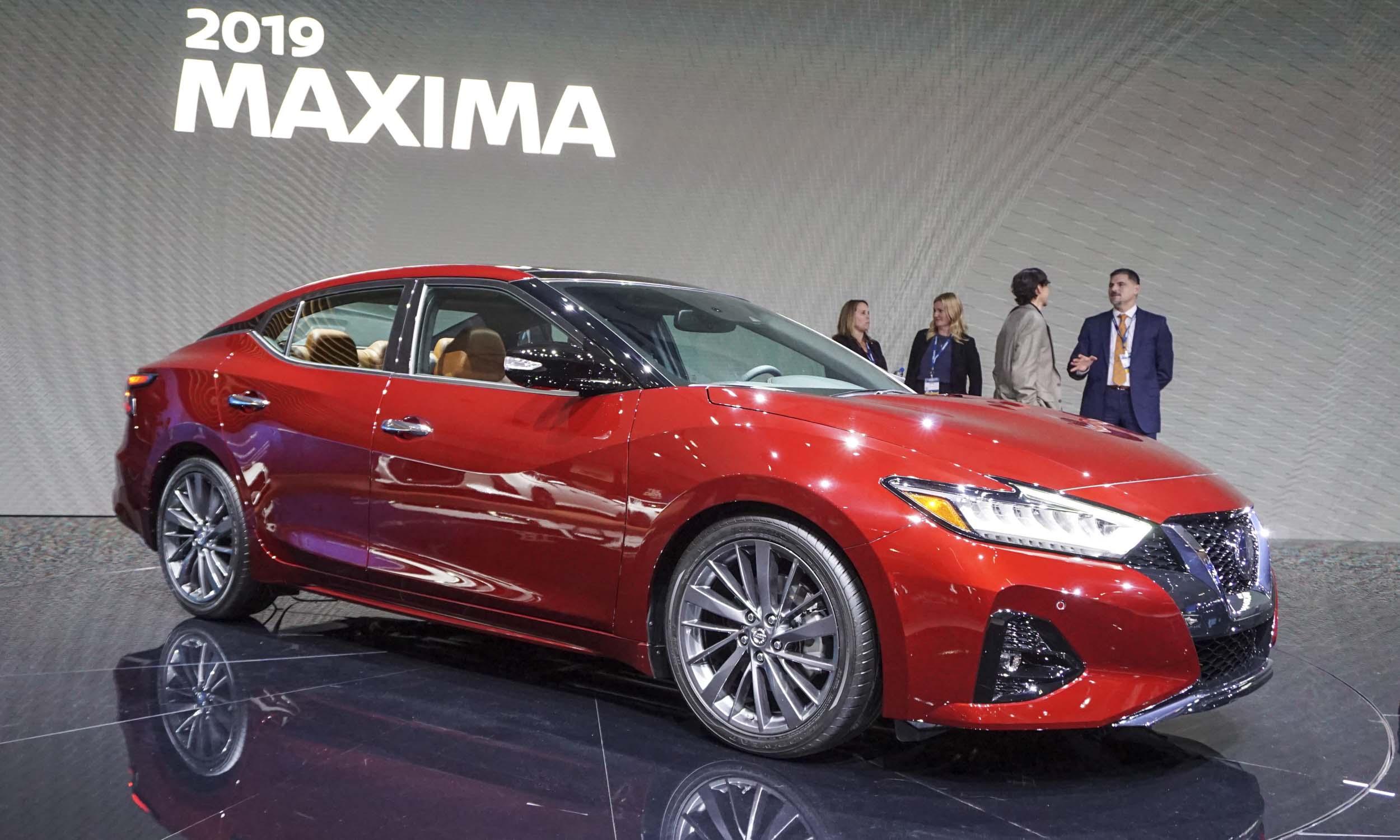 2018 LA Auto Show 2019 Nissan Maximanbsp