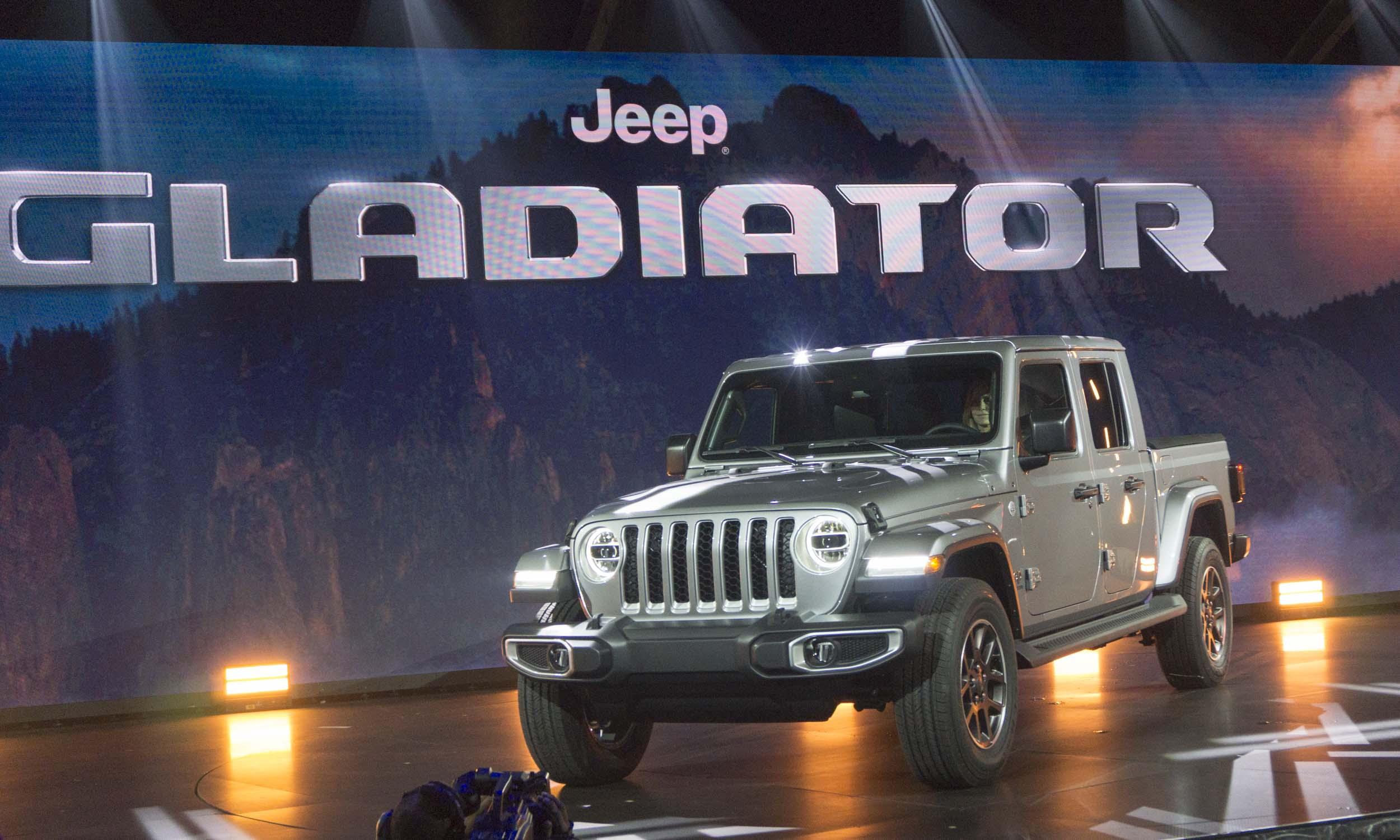 2018 LA Auto Show 2020 Jeep Gladiatornbsp