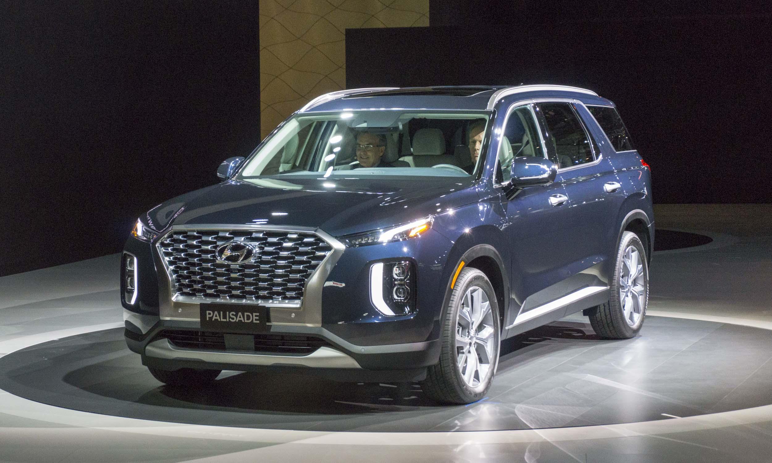 2018 L.A. Auto Show: 2020 Hyundai Palisade Rocks L.A.