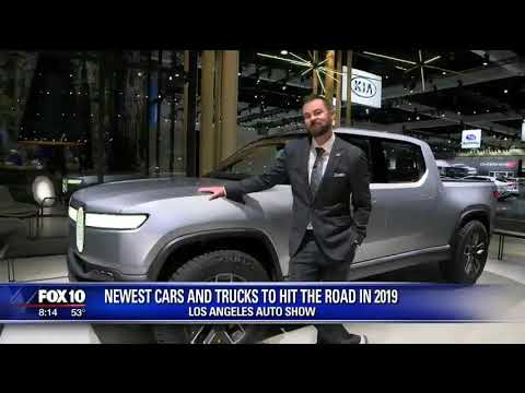 2019 Los Angeles Auto Show LIVE from KSAZ Fox 10 Phoenix News with Mike Caudillnbsp
