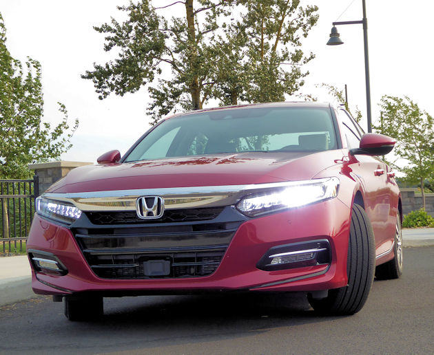 Honda Accord Hybrid Test Drive