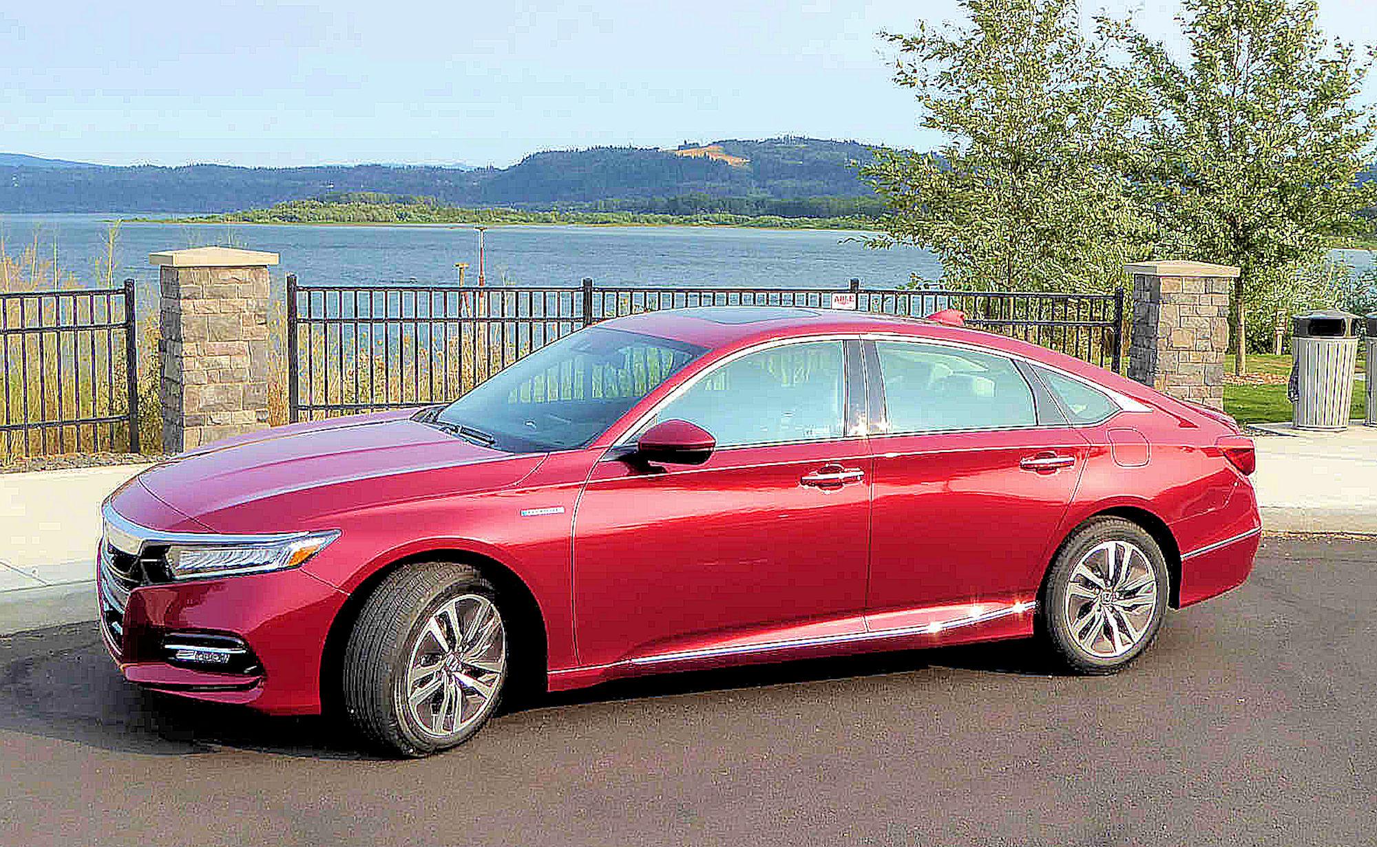 Honda Accord Hybrid Test Drive