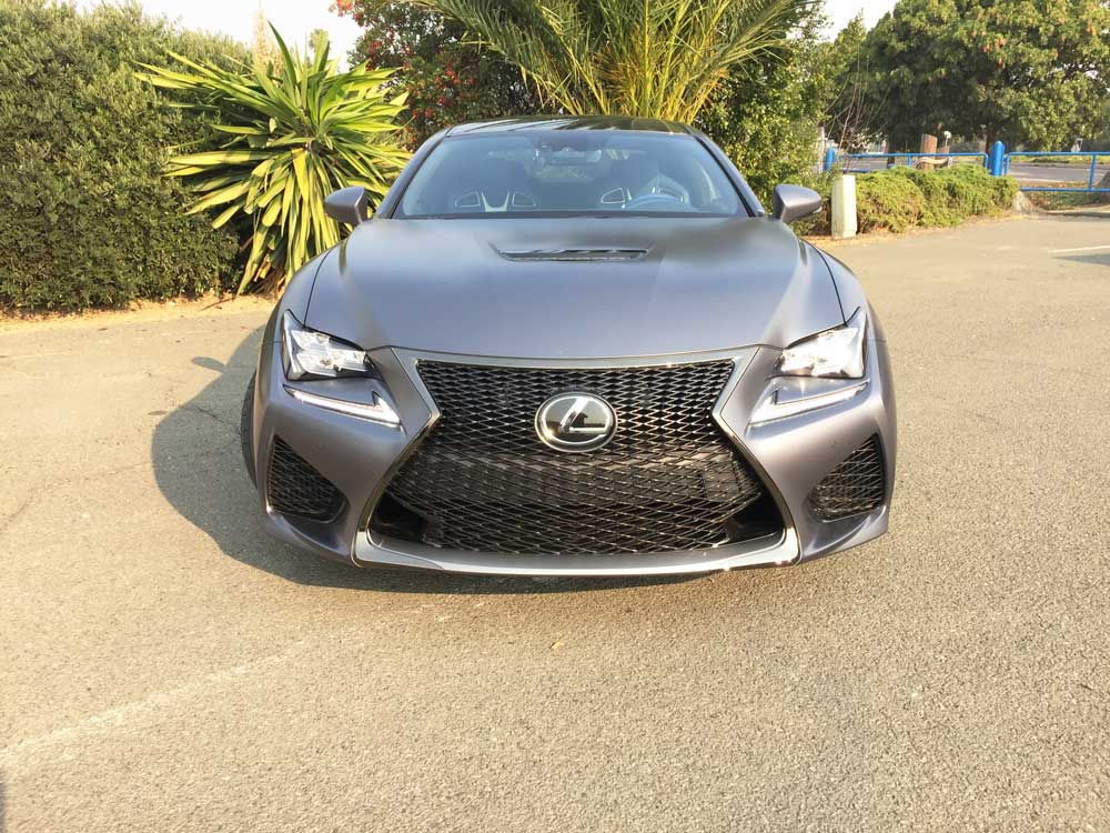 Lexus-RC-f-10th-Ann-Ed-Nose
