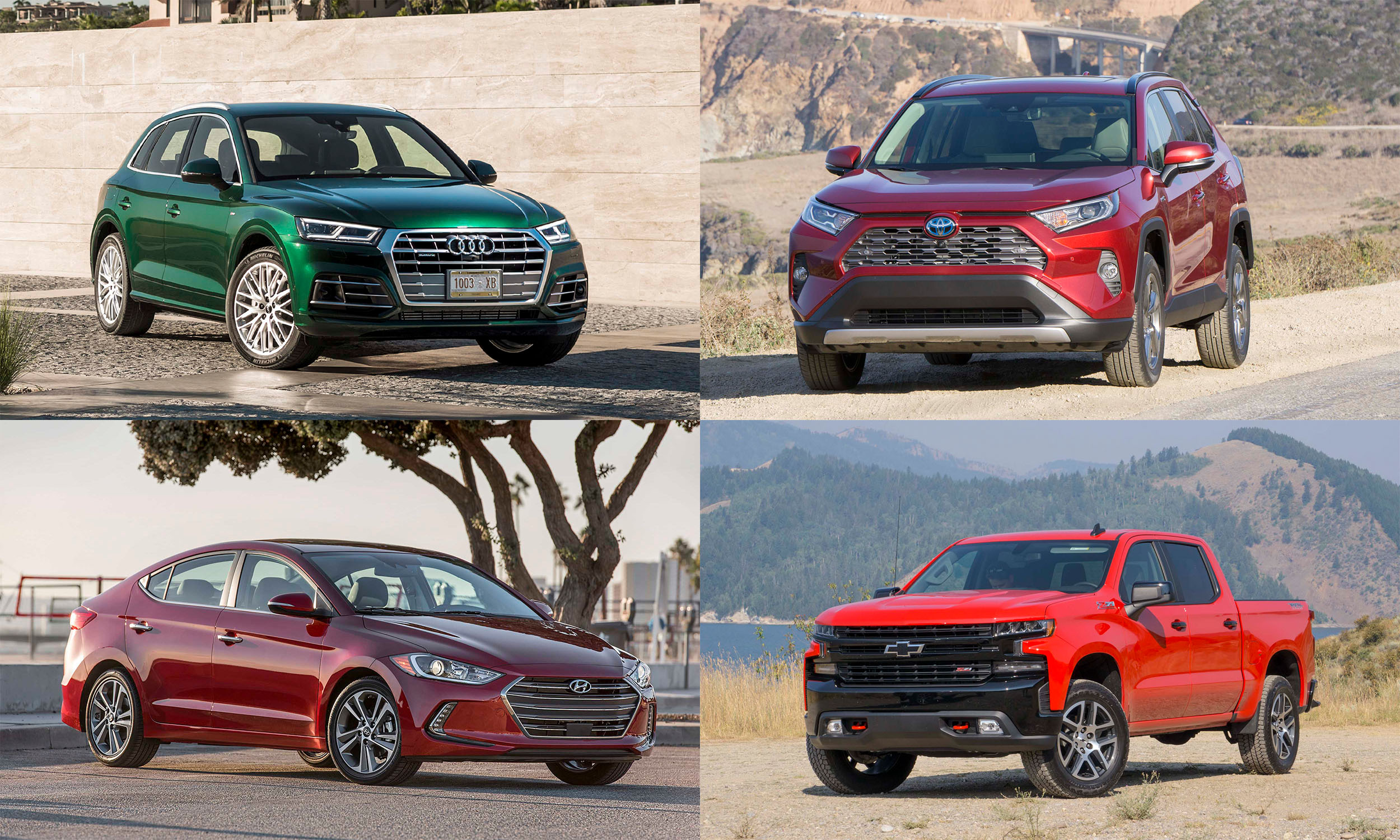 © Audi AG, © Hyundai Motor America, © Automotive Content Experience