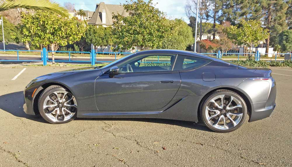 2019 Lexus LC 500 Coupe Test Drive