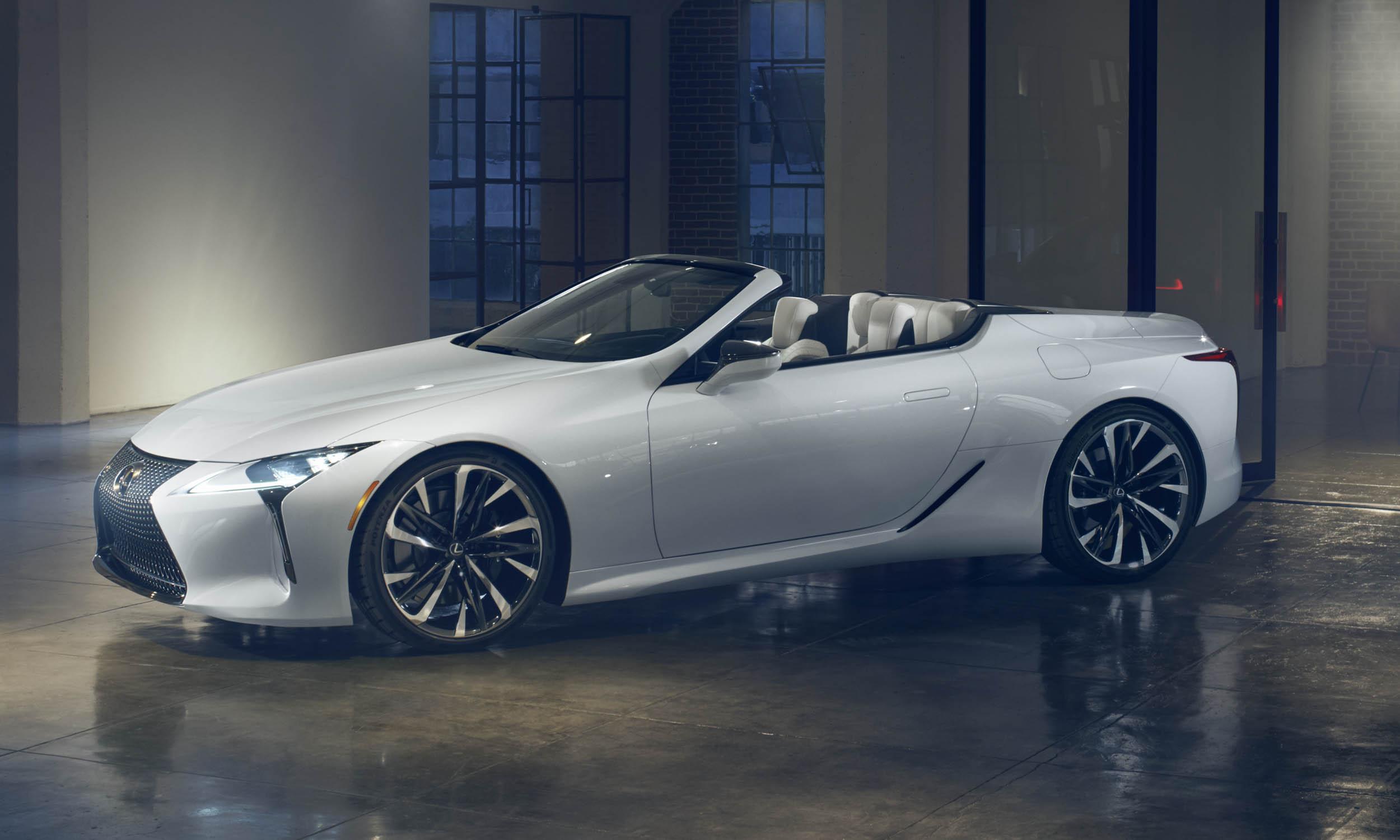 Lexus LC Convertible Concept First Looknbsp