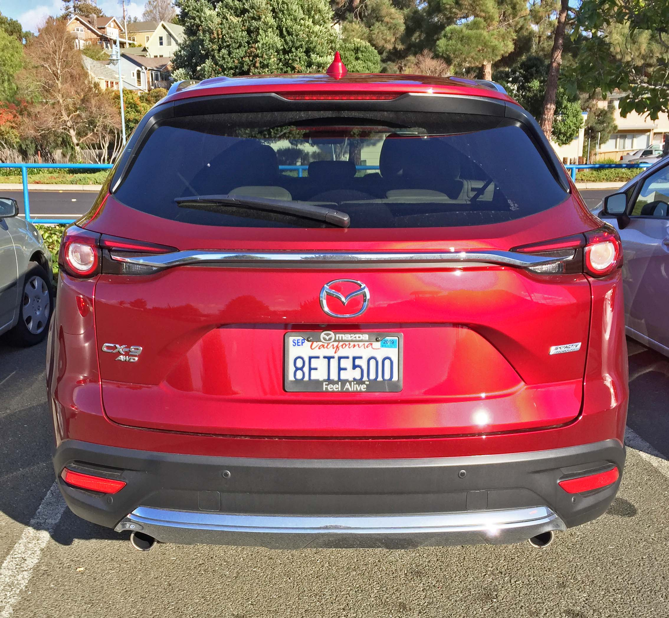 MazdaCX-9 GT Tail2