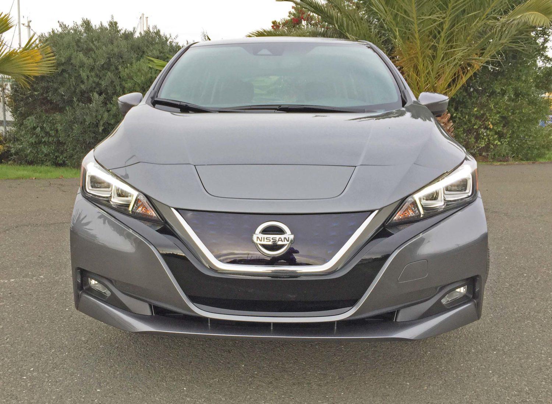 Nissan Leaf SL Nose