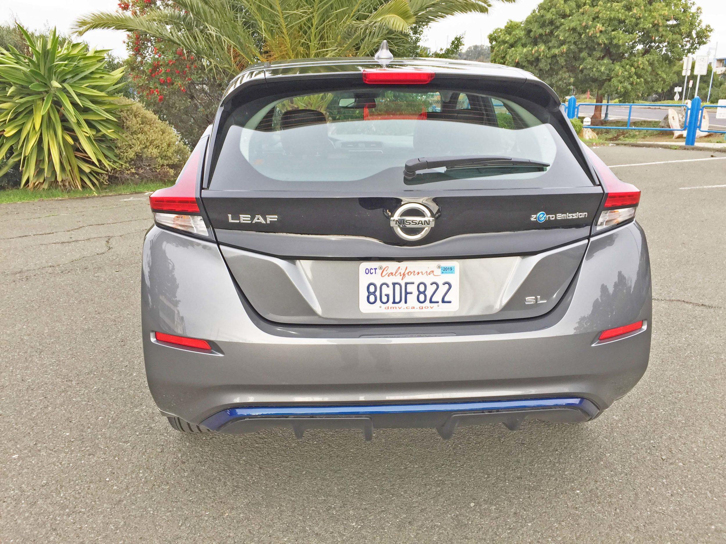 Nissan Leaf SL Tail