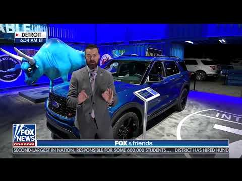 2019 North American International Auto Show LIVE from Fox & Friends with Mike Caudill In Detroit!