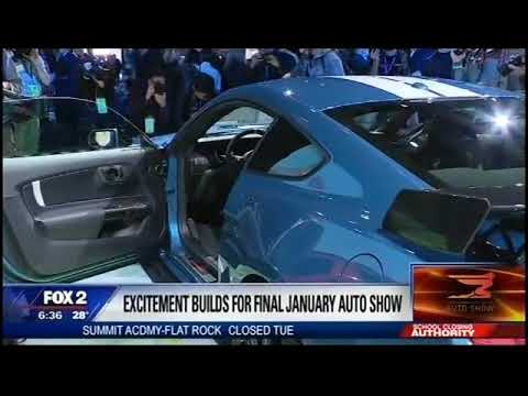 2019 North American International Auto Show LIVE from WJBK Fox 2 with Mike Caudill In Detroit!
