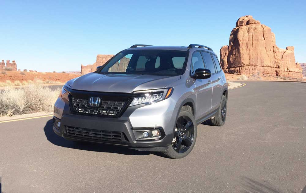 2019 Honda Passport Elite SUV Test Drive