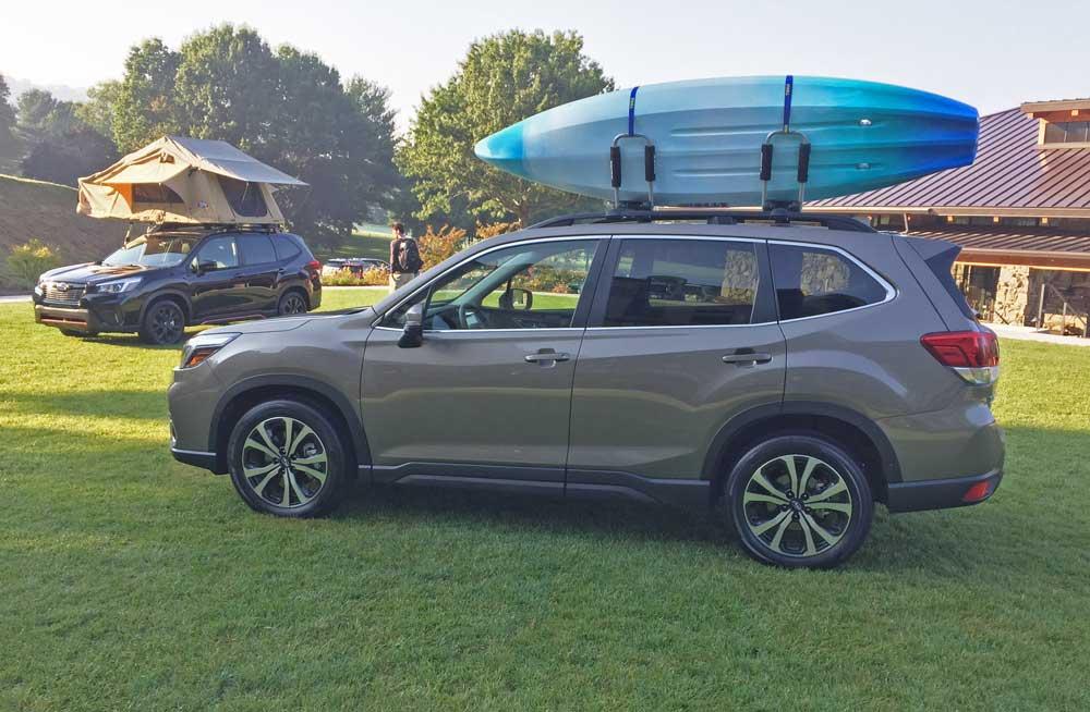 Subaru-Forester-Kayak