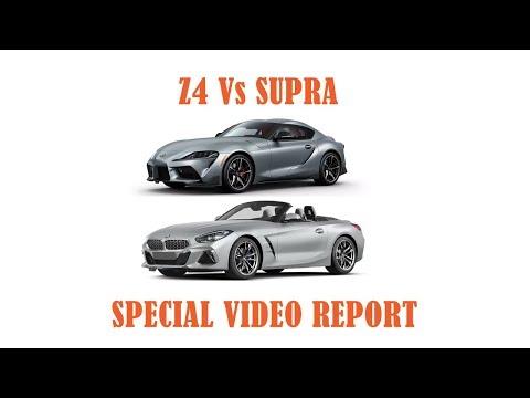BMW Z4 Vs TOYOTA SUPRAnbsp