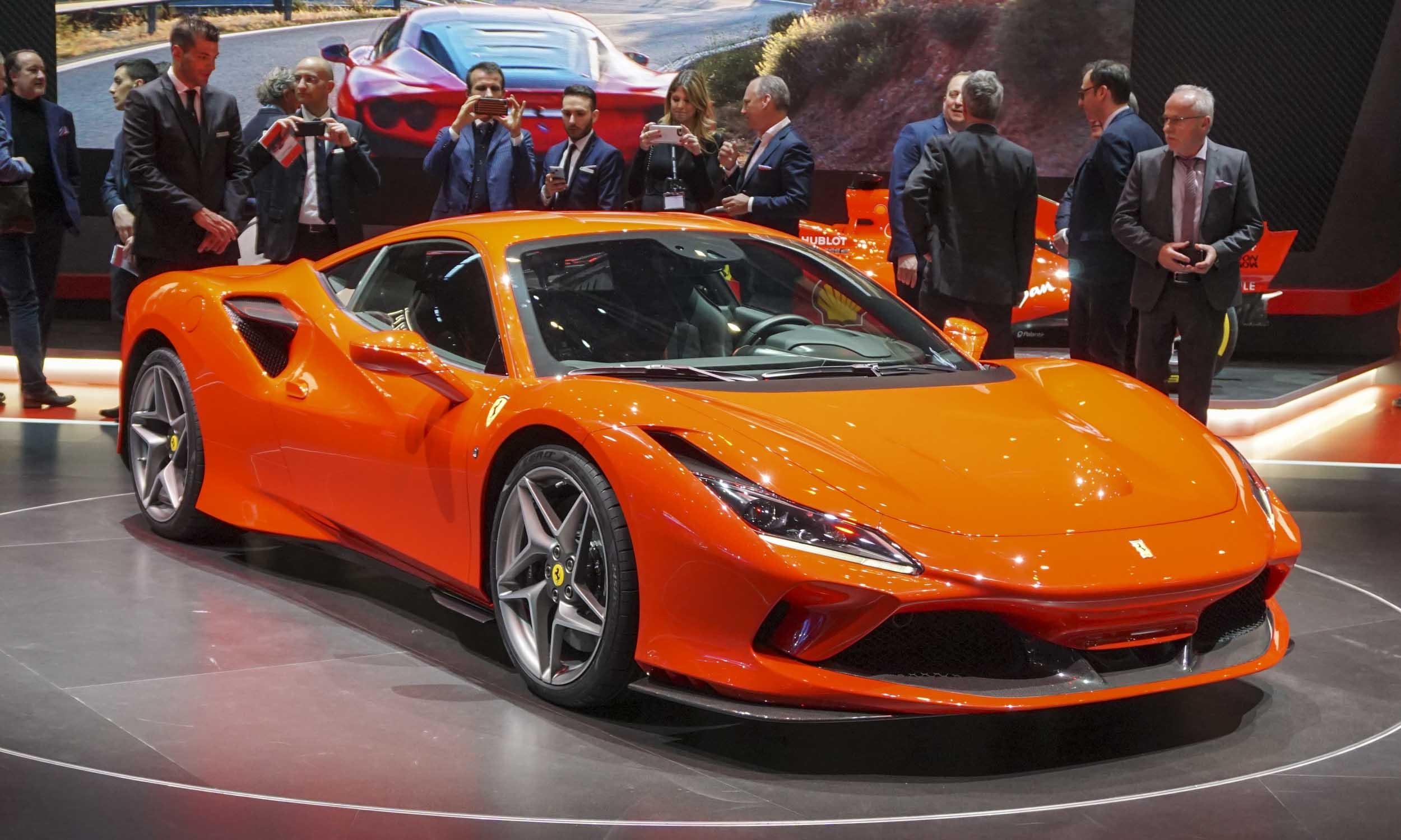 2019 Geneva Motor Show: Ferrari F8 Tributo