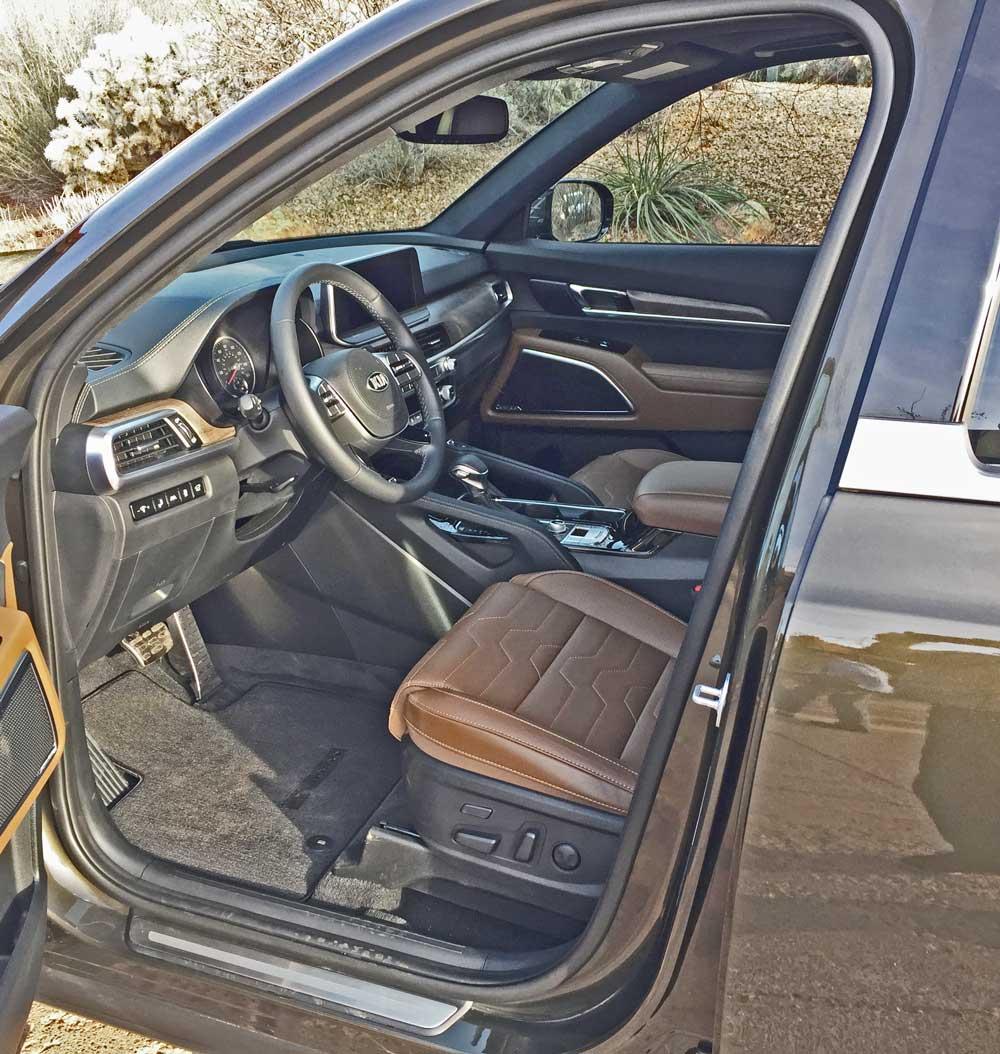 2020 Kia Telluride SX V-6 AWD Test Drive