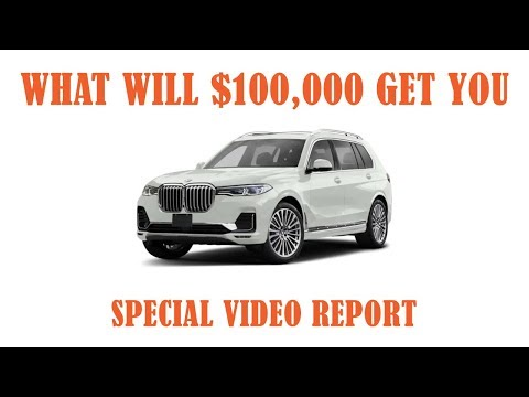 BMW X7 FOR $100000nbsp