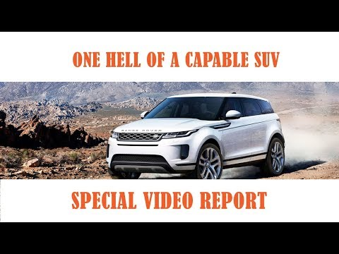 First Drive 2020 Range Rover Evoque in Greece