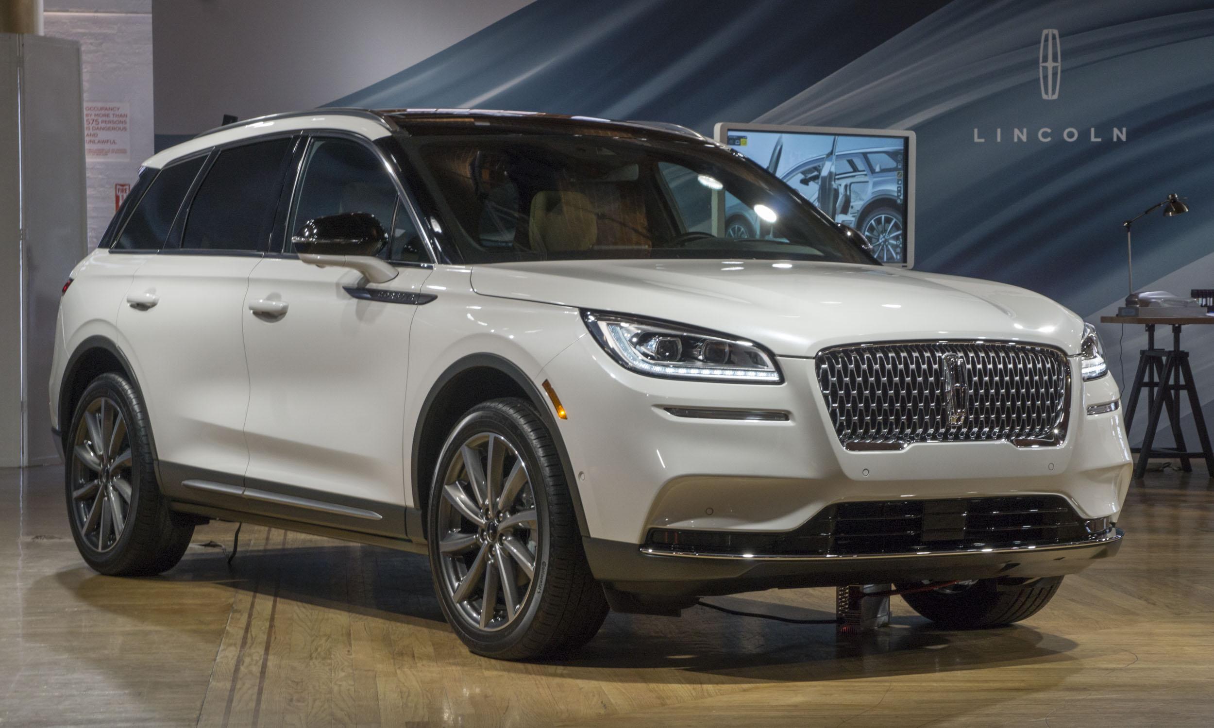 2019 New York Auto Show 2020 Lincoln Corsairnbsp