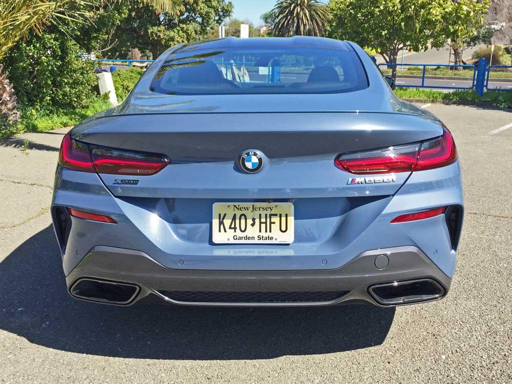 BMW-M850i-Tail