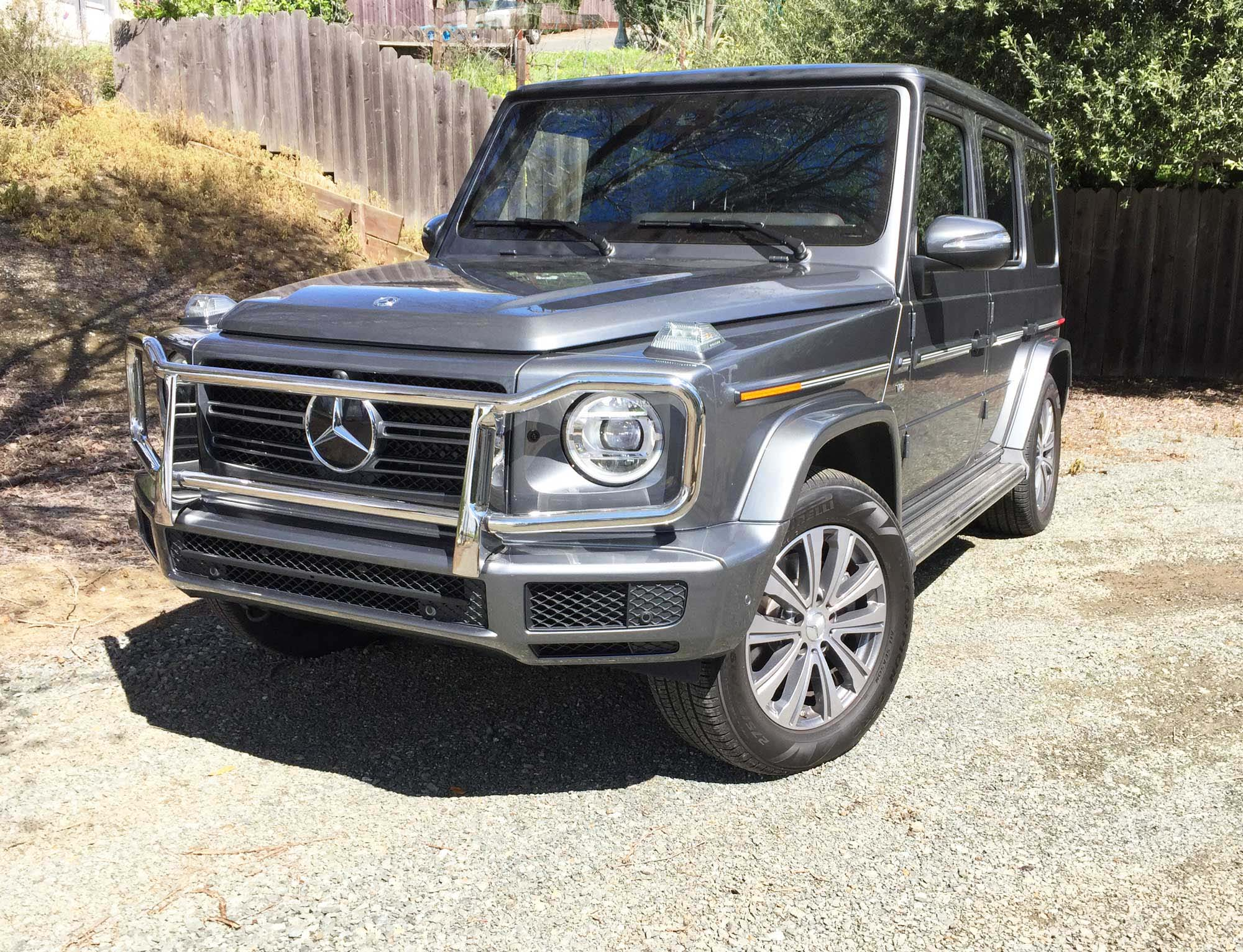 2019 Mercedes-Benz G550 Test Drive