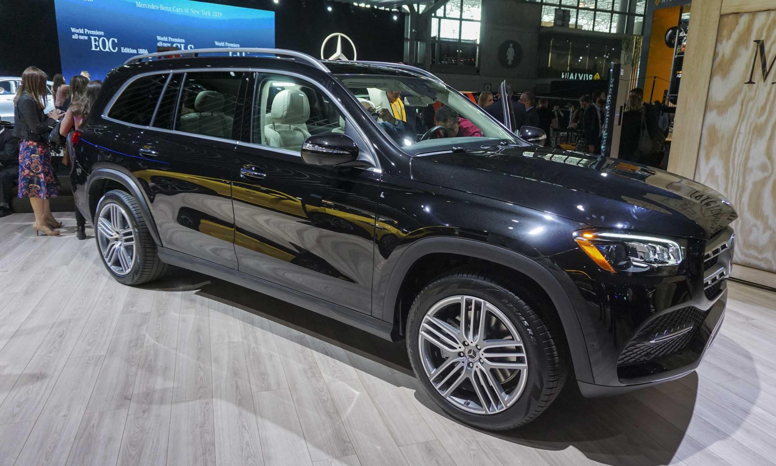 2019 New York Auto Show MercedesBenz GLSnbsp