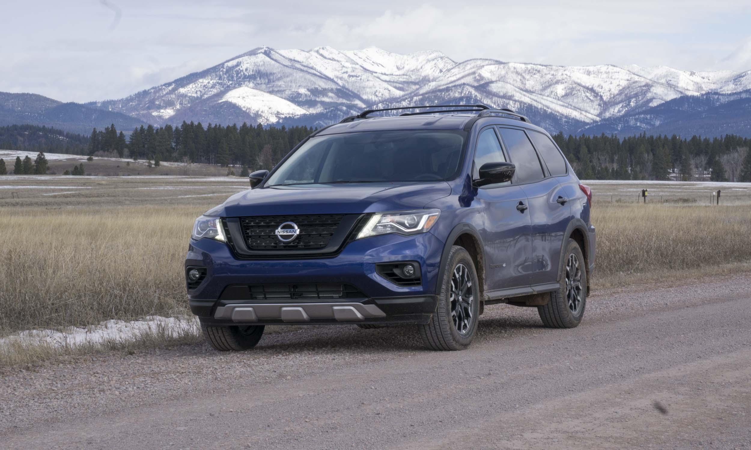 Nissan Pathfinder Rock Creek Adventure in Montananbsp