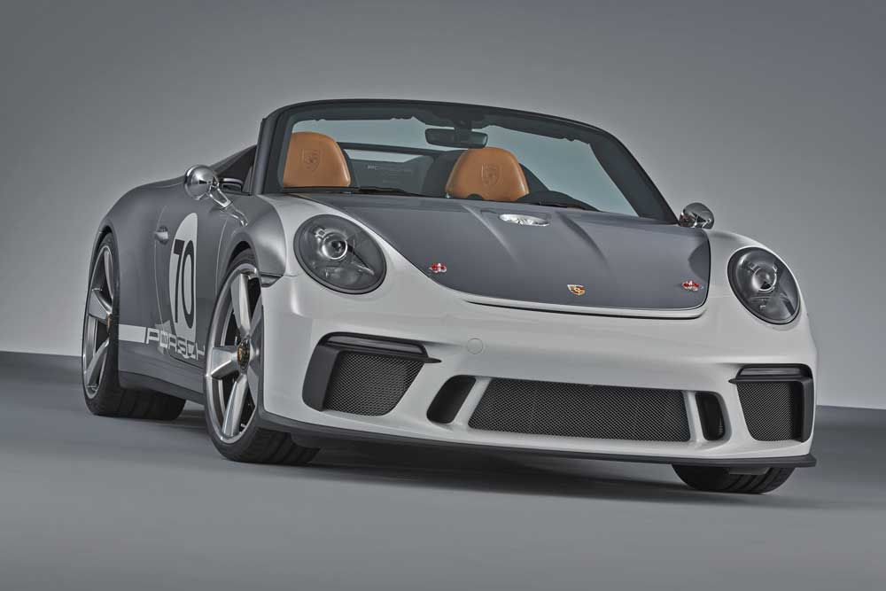 Porsche 911 Speedster Concept for 2019