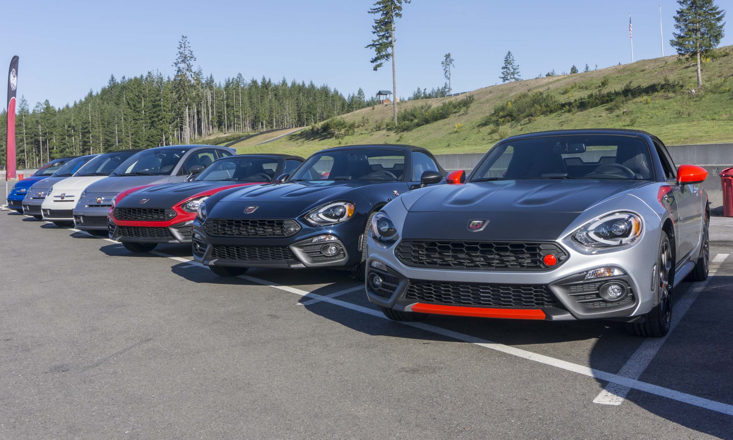 Small Cars, Big Fun: Track Day with Fiat Abarth