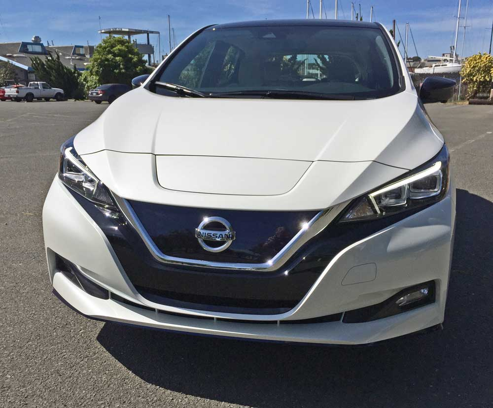 2019 Nissan Leaf SL Plus Test Drive