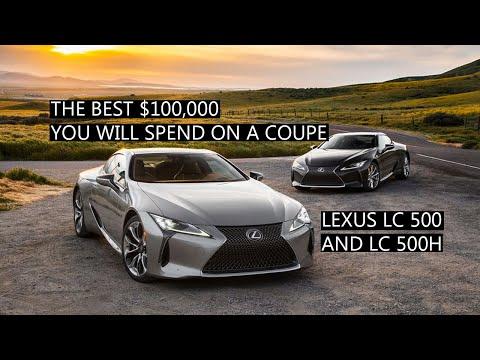 2019 Lexus LC500 AND LC500hnbsp