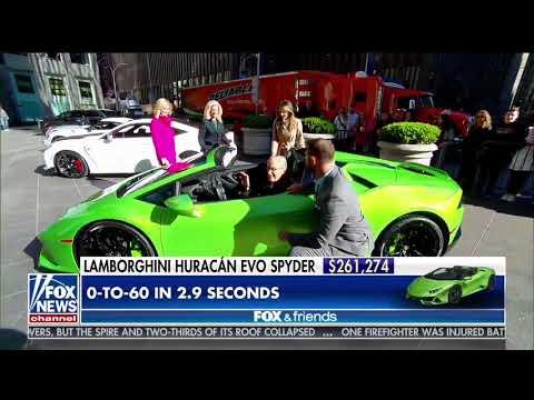 New York Auto Show Fox and Friends PreShownbsp