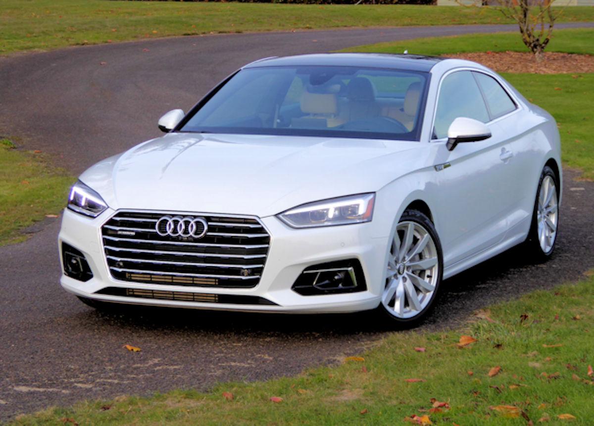 Audi A5 Coupe Test Drive