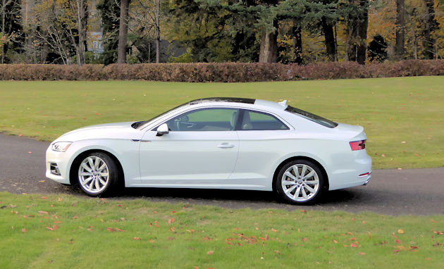Audi A5 Coupe Test Drive