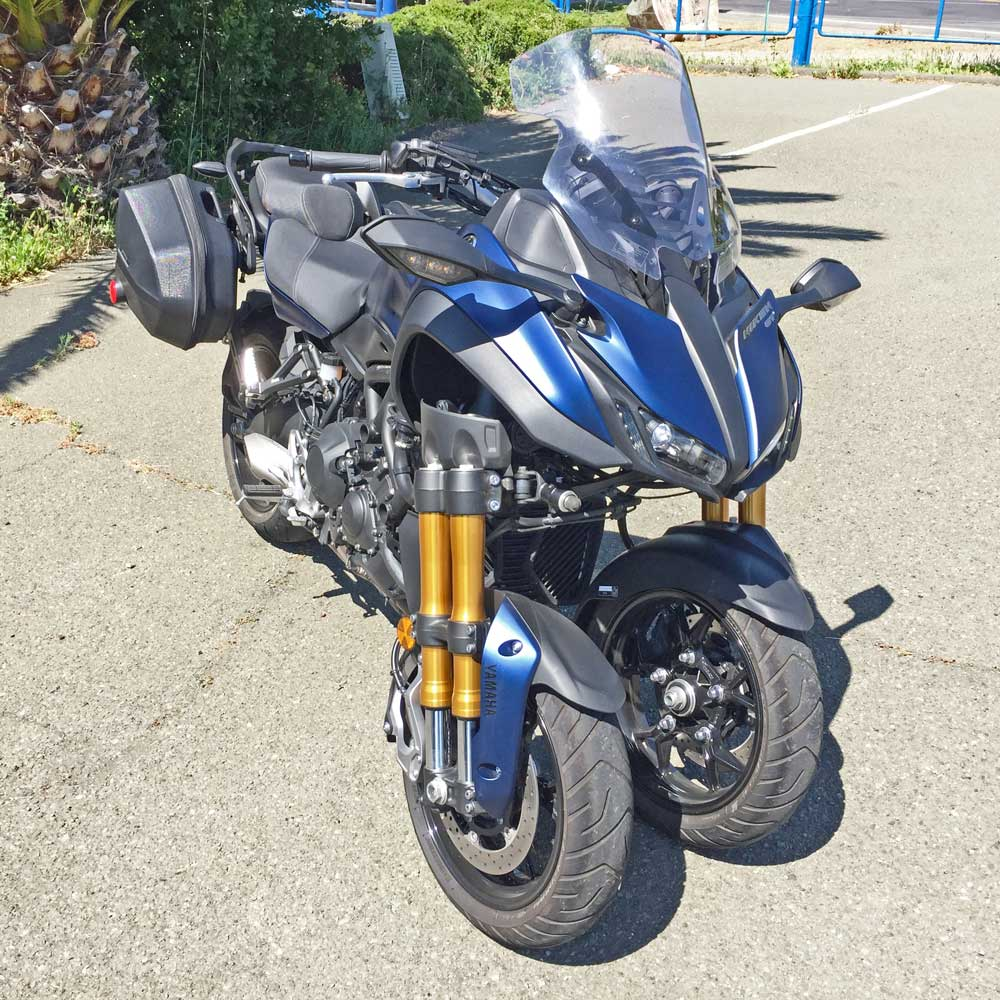 2019 Yamaha Niken GT Sport Tourer Test Ride