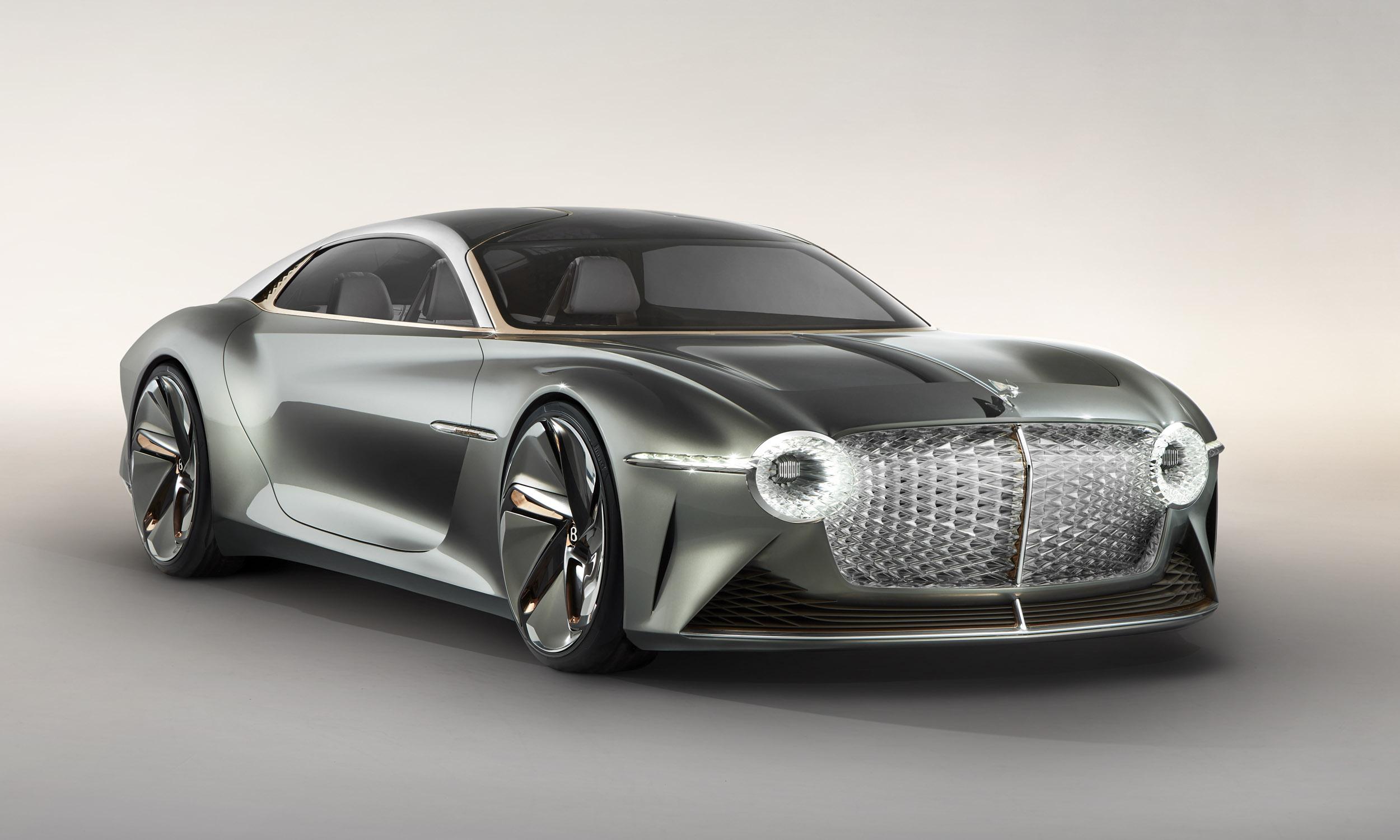 Bentley EXP 100 GT: First Look