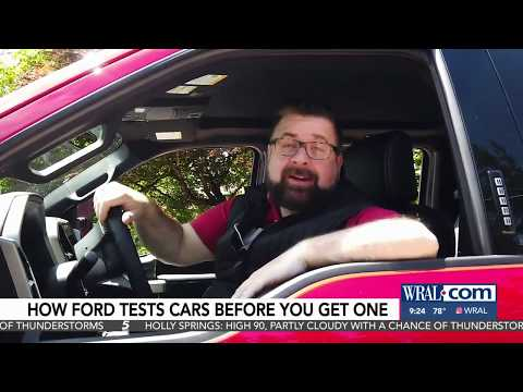 How Ford Tests Cars Before You Get One WRALnbsp