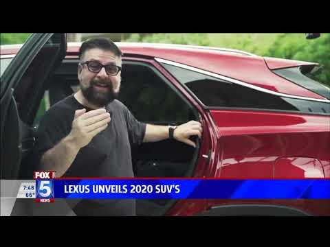 Lexus Unveils 2020 SUVs Fox 5nbsp