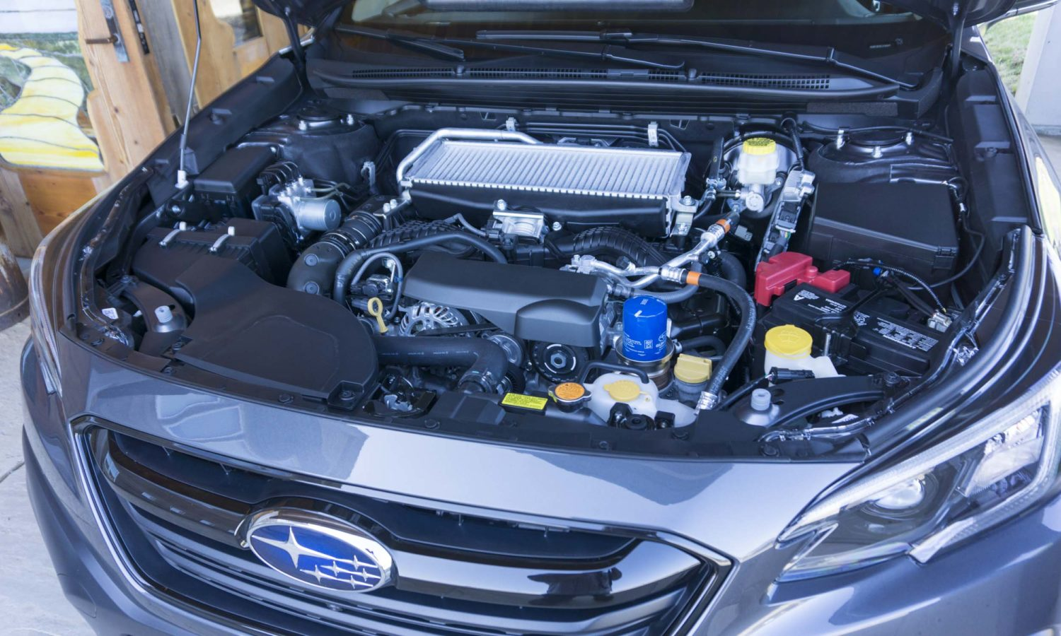 Subaru Outback Turbo Engine