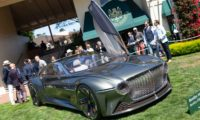 Bentley Goes Back to the Future
