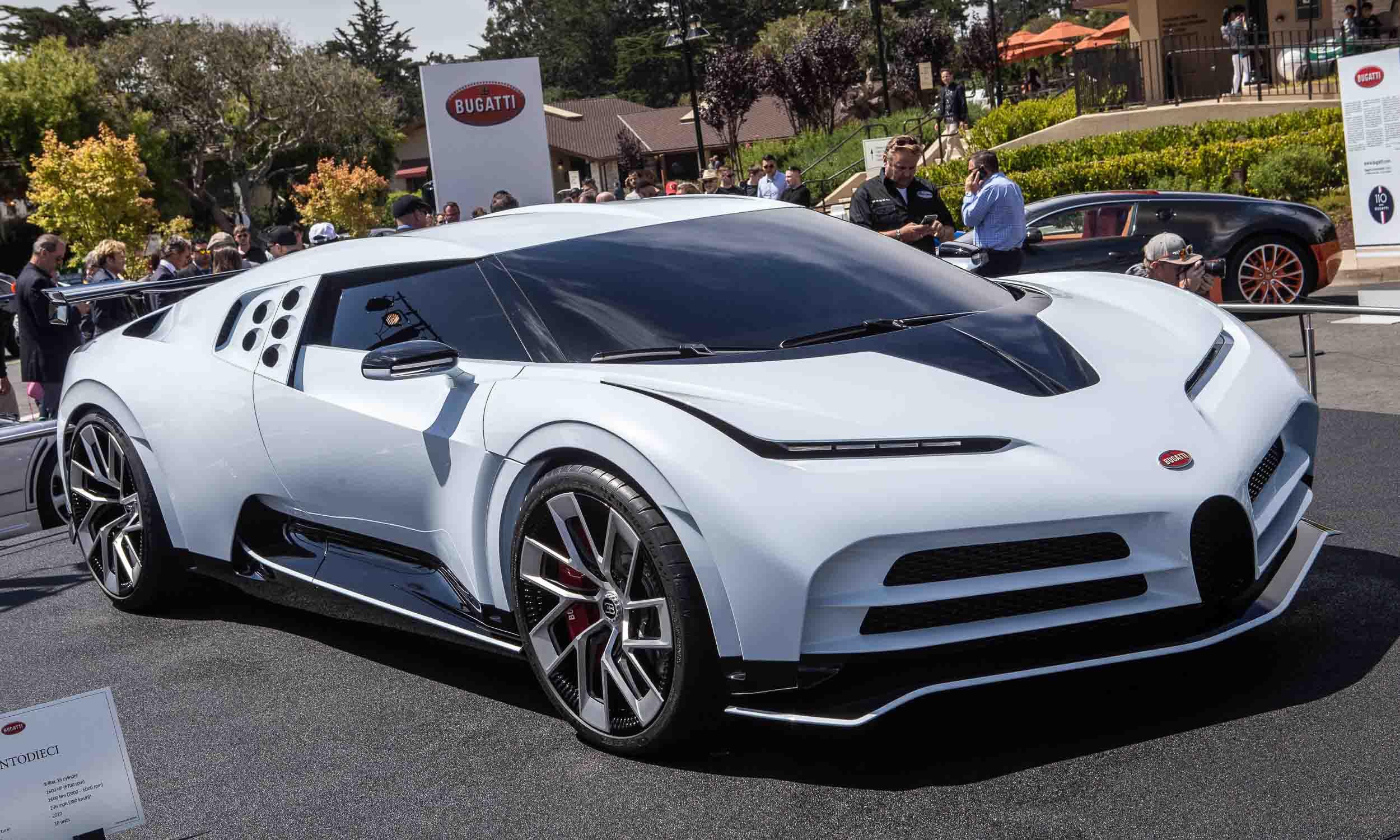 2019 Pebble Beach Concours: Bugatti Centodieci