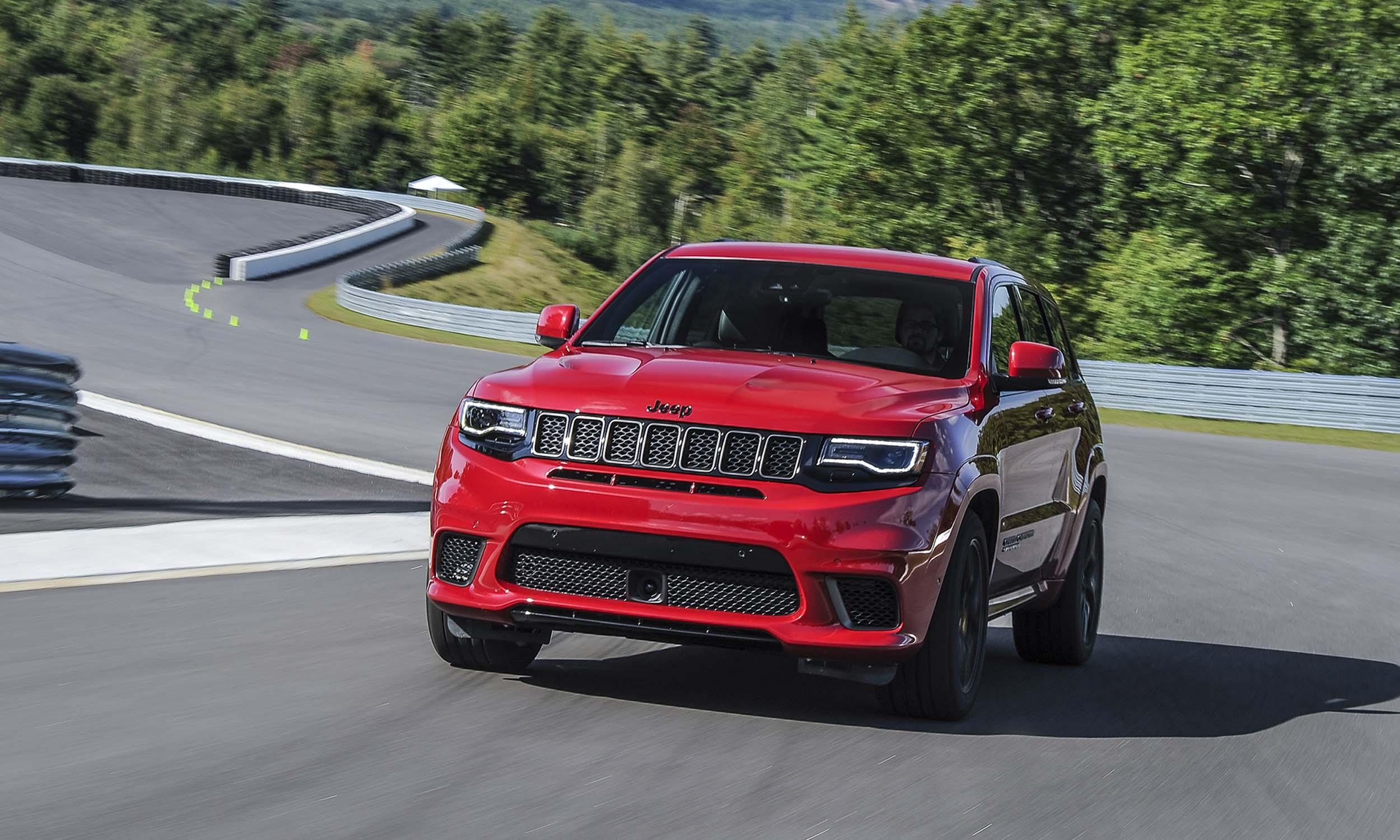 VIDEO Jeep Grand Cherokee Trackhawk Launch Controlnbsp