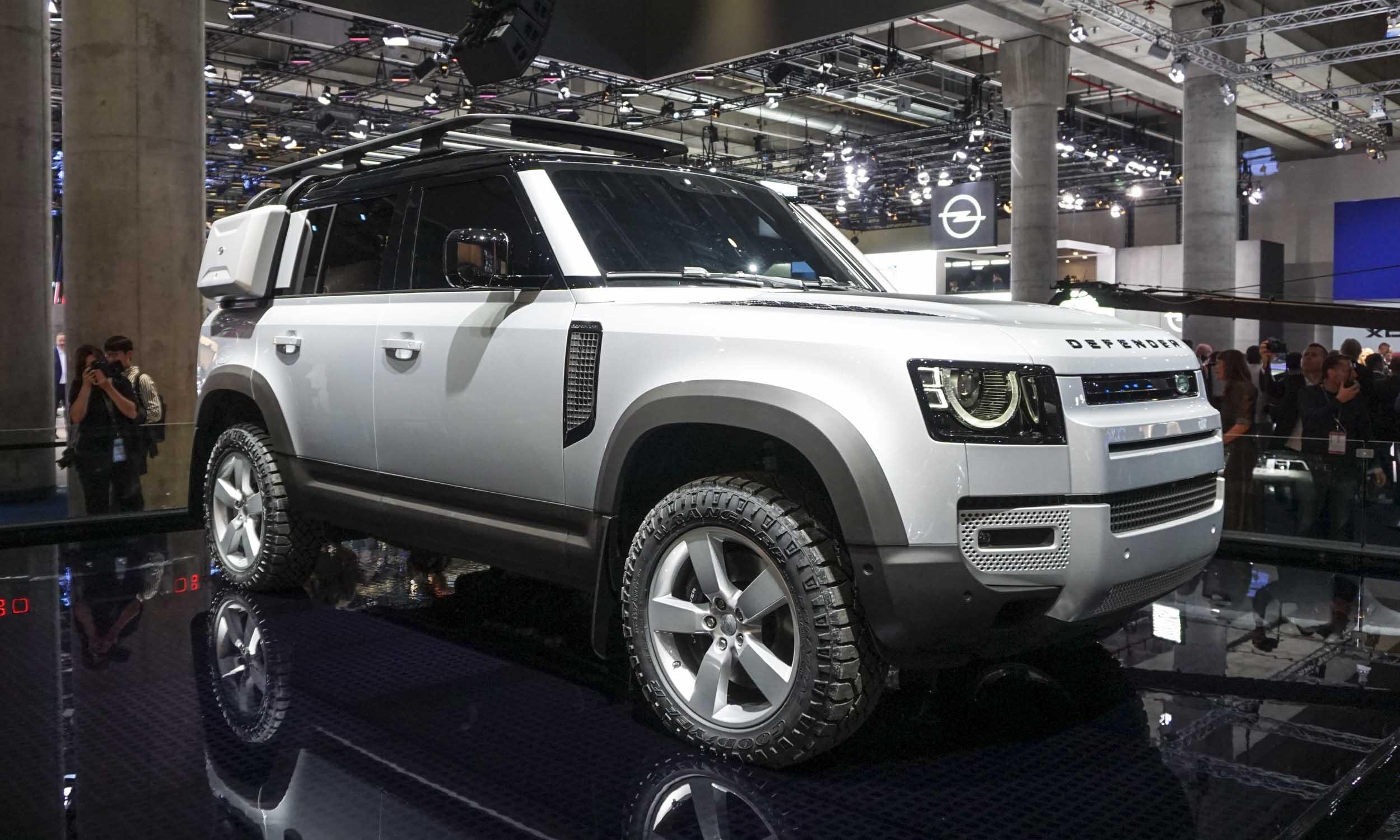 2019 Frankfurt Motor Show: Land Rover Defender