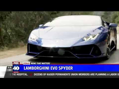 Nik Miles Lamborghini EVO Spyder Fox 40nbsp